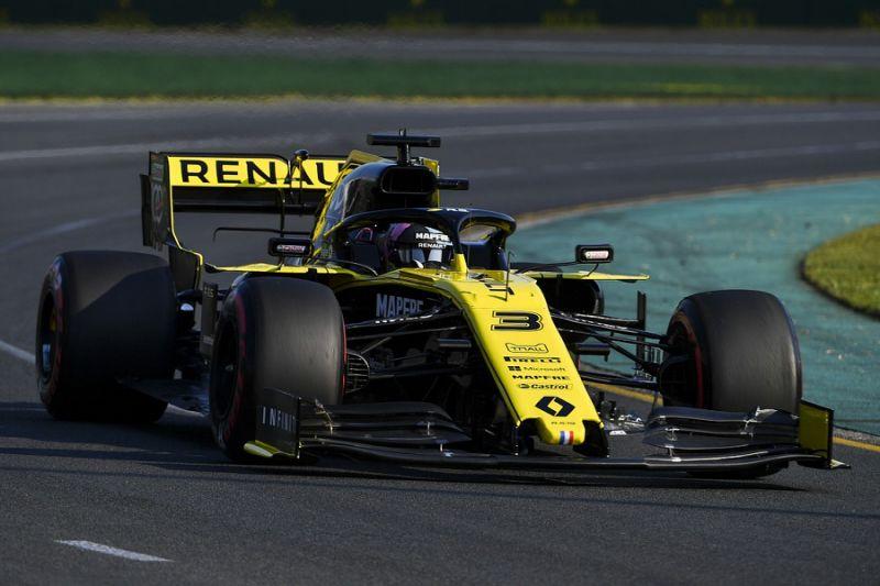 Ricciardo didn't get 100% out of Renault in Australia F1 qualifying