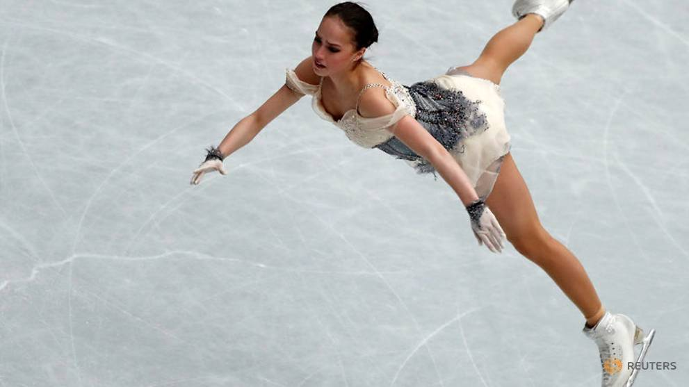 Olympic champion Zagitova leads ladies short programme at worlds