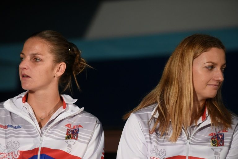Kvitova, Pliskova snub Fed Cup playoffs against Canada