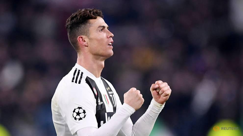 Football: Ronaldo fined for mimicking Simeone celebration