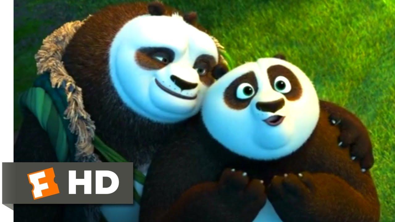 Kung Fu Panda 3 2016 Panda Training Scene 5 10 Movieclips Nestia