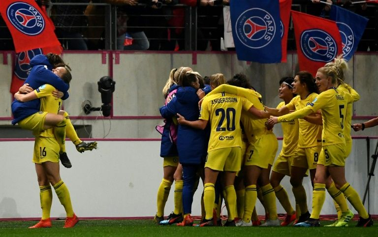 Chelsea snatch PSG triumph to set up semi-final showdown with Lyon
