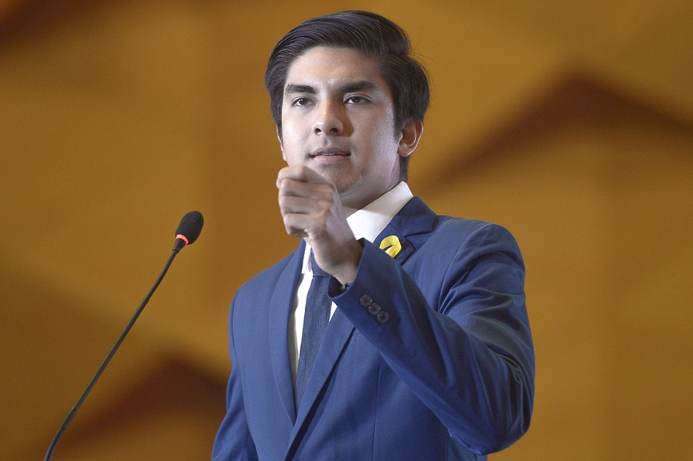 Syed Saddiq suspends special officer for allegedly attending drug-fuelled 'private party'