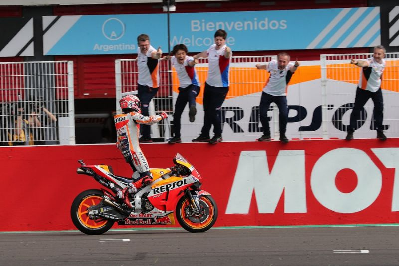 Honda's Marquez takes dominant first MotoGP win of 2019 in Argentina