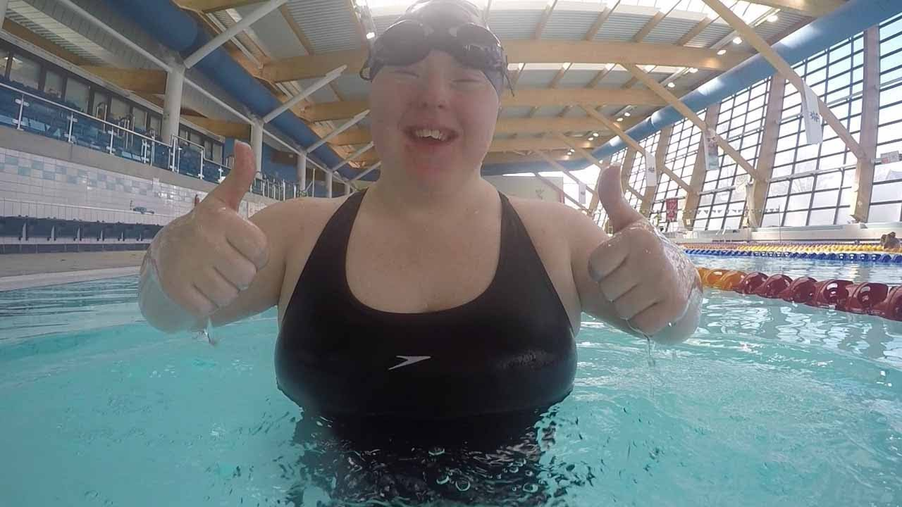 Down Syndrome Girl Becomes Champion Swimmer