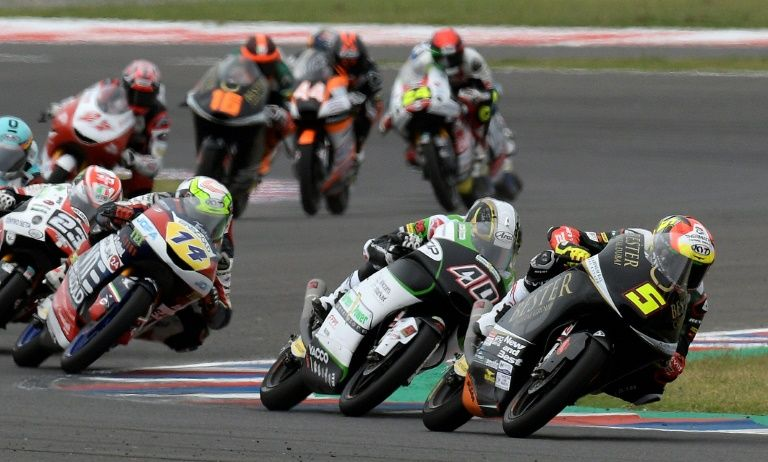 Baldassarri takes Argentina Moto2 ahead of Aussie Gardner
