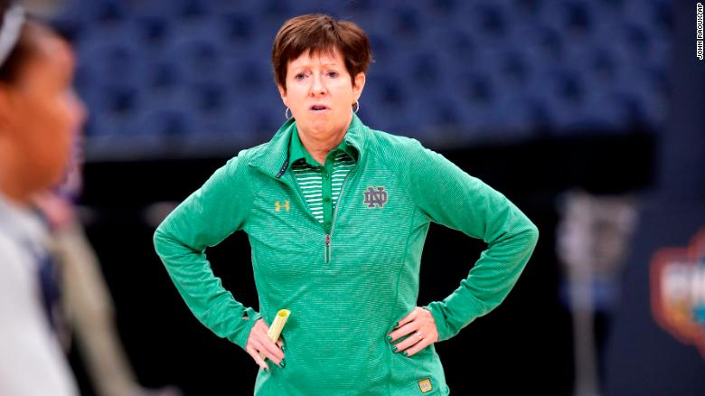 Notre Dame head coach Muffet McGraw: 'We don't have enough women in power'