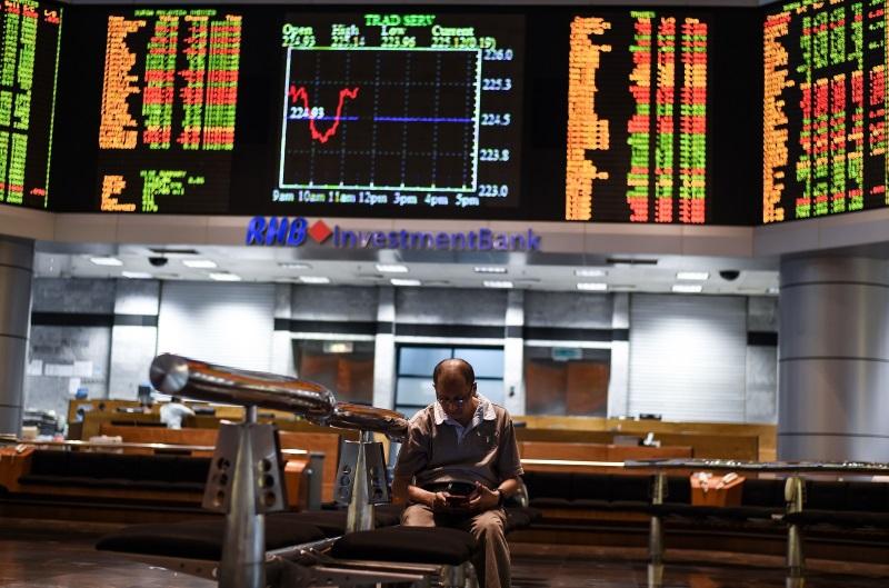 国行突降准·银行股应声大涨·马股一度飙升至1614.19点