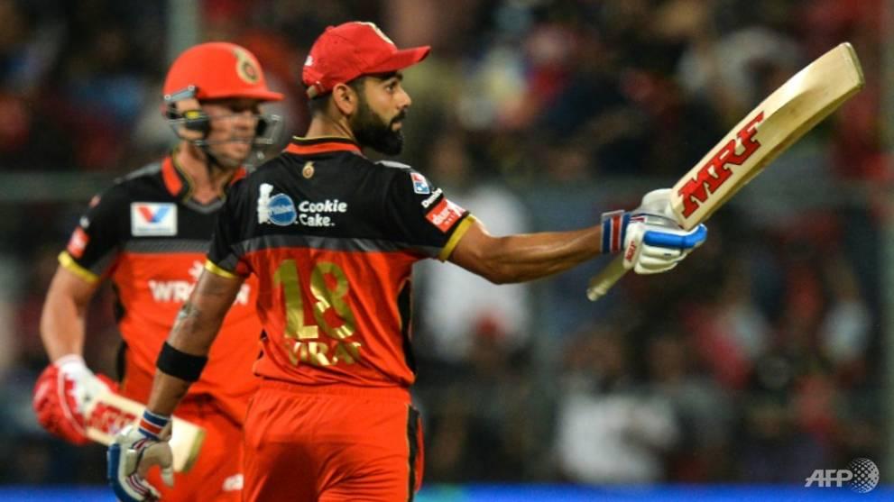 Cricket: Kohli smashes 84 to top IPL's all-time run chart