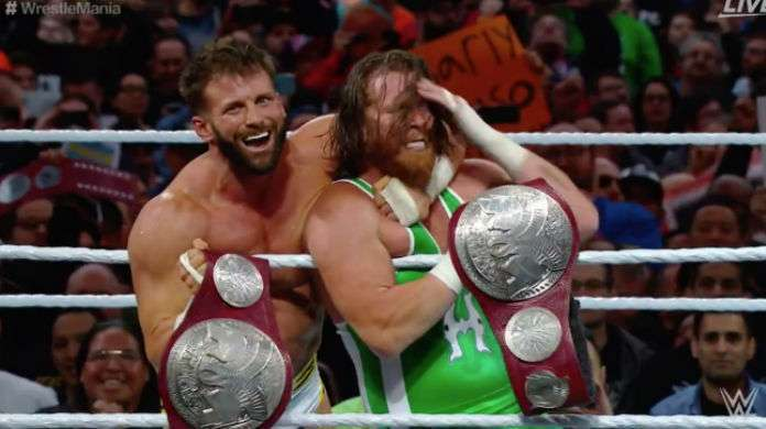 WrestleMania 35: Zack Ryder, Curt Hawkins Defeat The Revival For RAW Tag Team Championships