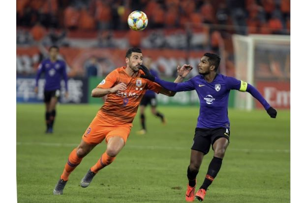 JDT go down 1-2 to Shandong in China