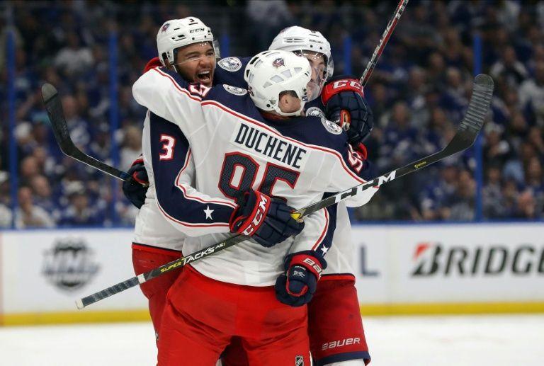 Blue Jackets stun Lightning in NHL playoff upset