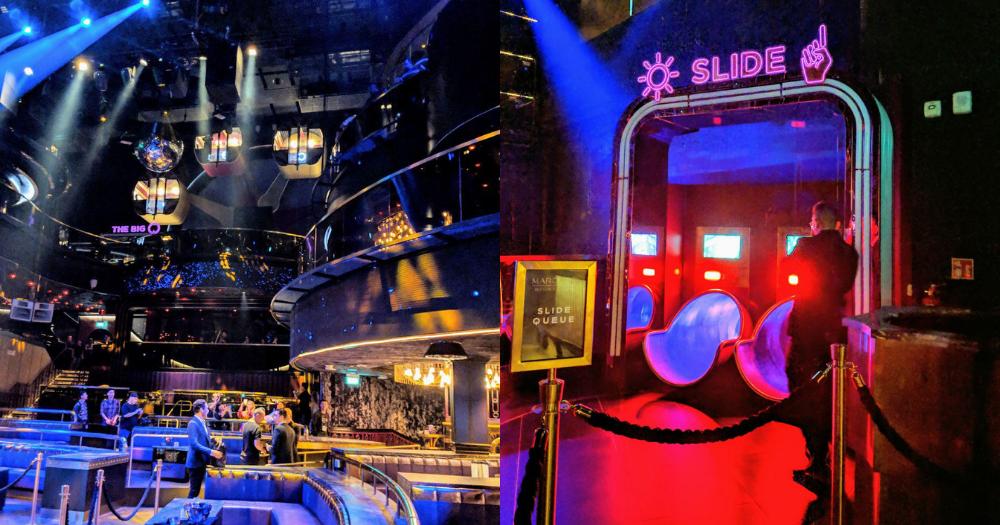 Largest nightclub in S'pore opens April 12, has photobooth, ferris wheel & 3-storey-high slide