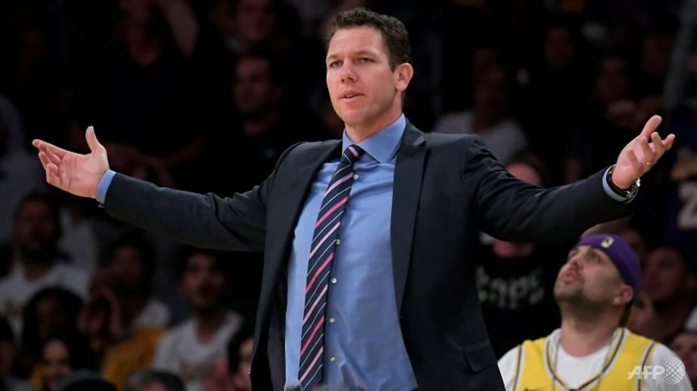 Basketball: Lakers split with embattled head coach Luke Walton