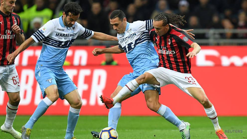 AC Milan beat Lazio in key Serie A top-four battle