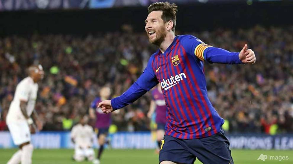 Football: Barcelona hammer Man United to reach Champions League semi-finals