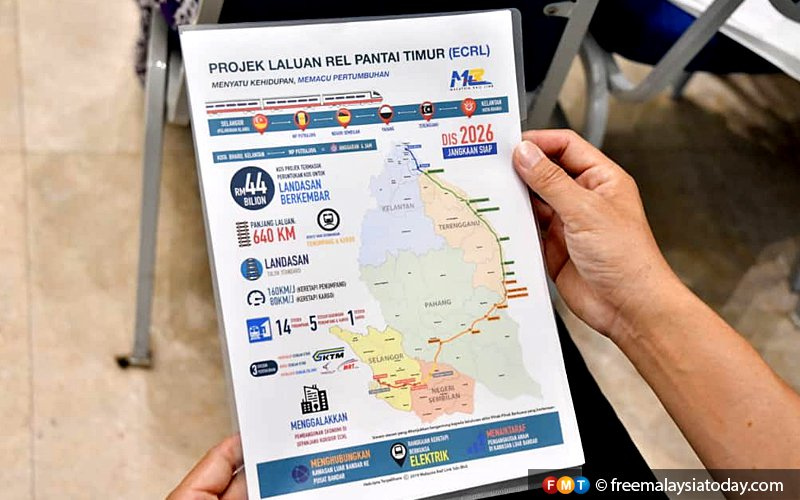 Proposed realignment of ECRL stretch to be opened for public feedback