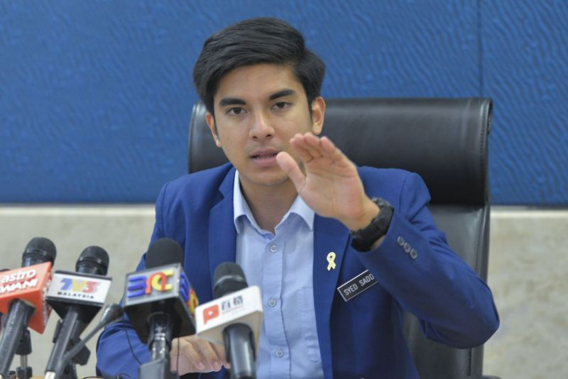 Syed Saddiq opposes raising retirement age, says priority should be for youths