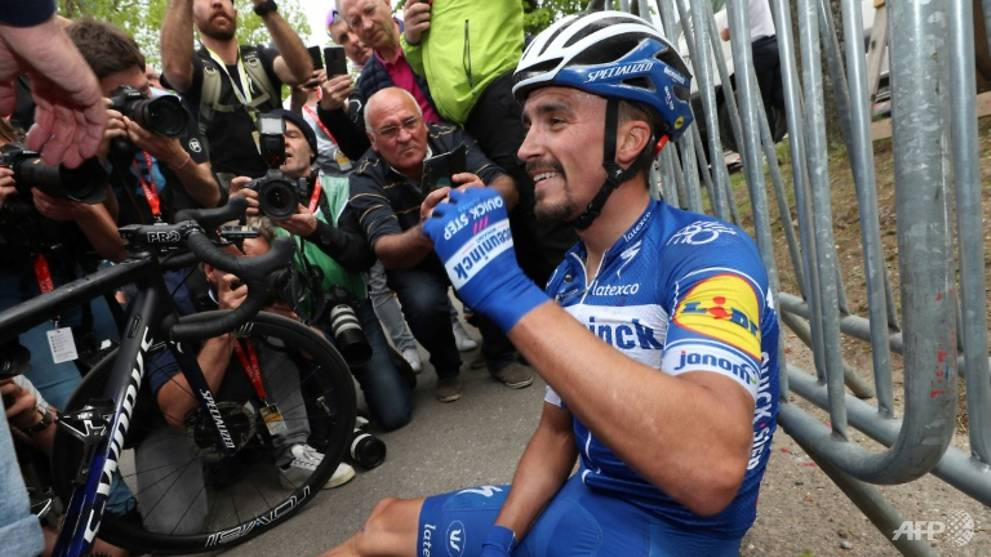 Cycling: Alaphilippe defends Fleche Wallonne title