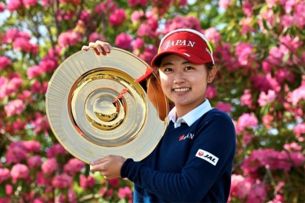 Local Yasuda brings the house down with eight-stroke win