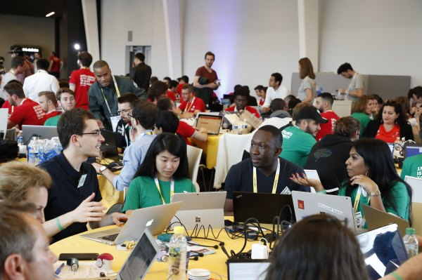 Developers – sign up to hack at the TC Hackathon at VivaTech