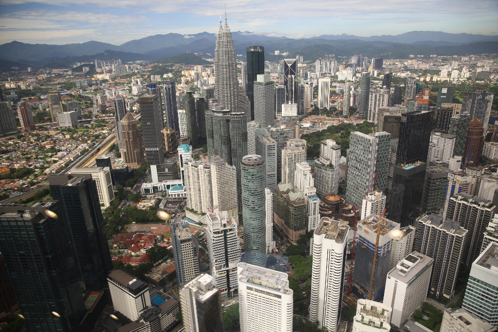 Malaysia's population stands at 32.63 million, men outnumber women