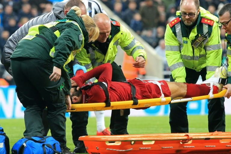 Concussed Salah out of Liverpool's Champions League clash against Barcelona