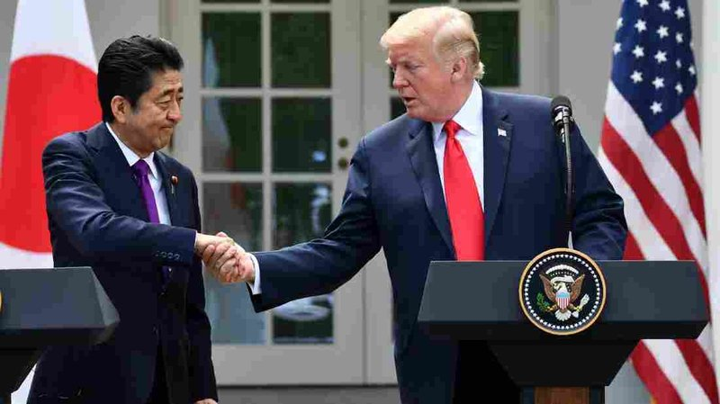 Trump discusses N.Korea with Japan's Abe after tests