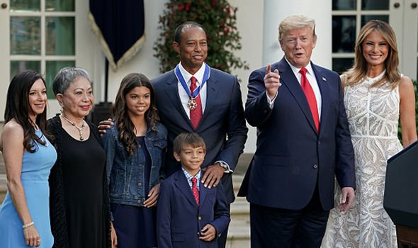 Tiger Woods faces BACKLASH over White House Medal of Freedom ceremony - 'a big STAIN'