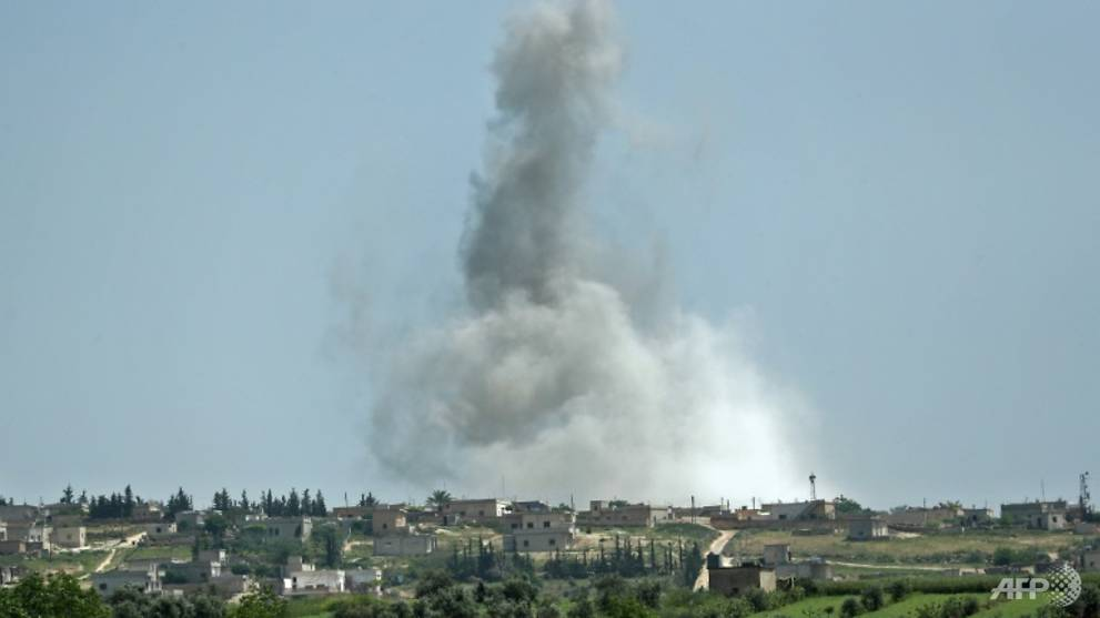 Escalation in Syria's Idlib rattles months-old truce