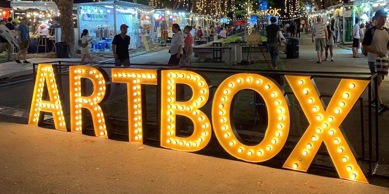 Artbox in Bangkok now a permanent market at sukhumvit till Nov 2019