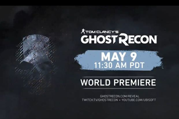 Ubisoft teases new 'Ghost Recon' game reveal on May 9