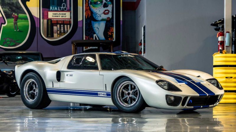 Own This GT40 MKI Wide Body To Connect With Racing History