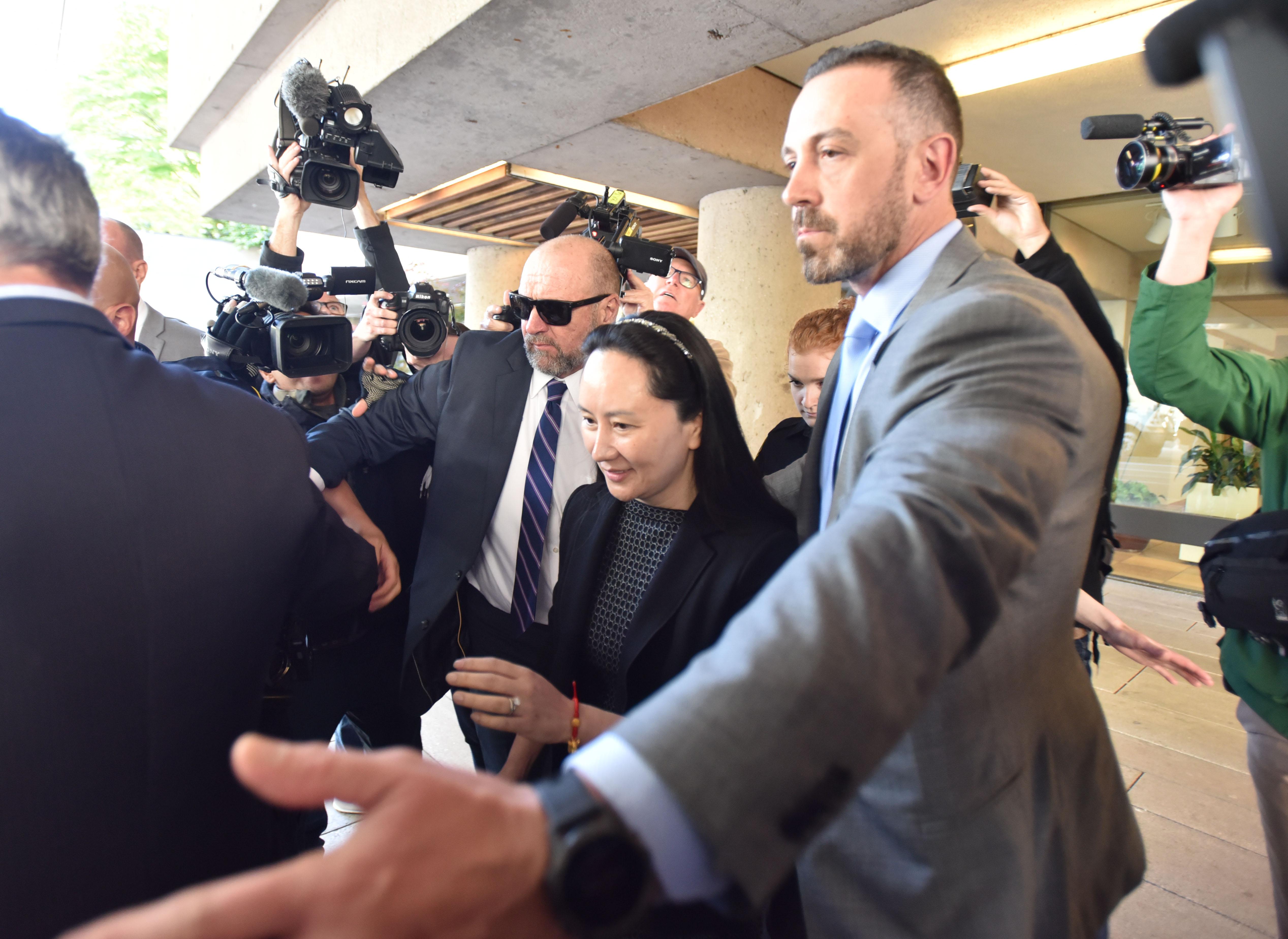 孟晚舟引渡案定明年1月20日 大温哥华展开审讯