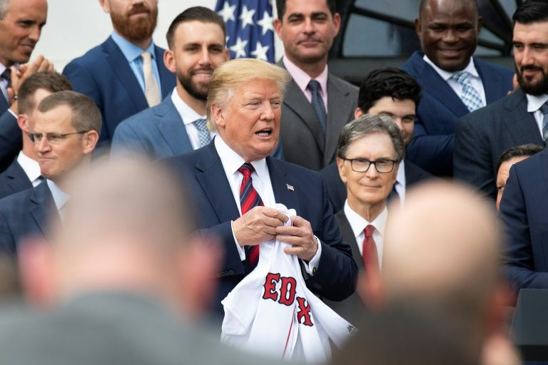 Red Sox honored by Trump but manager, several stars boycott