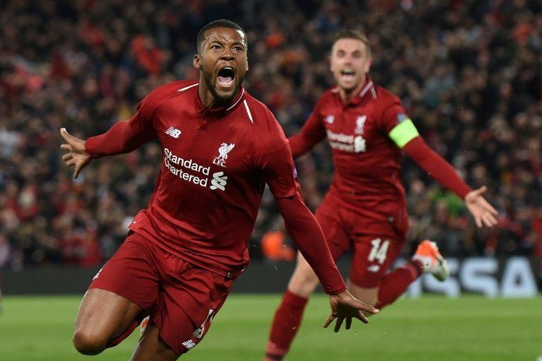 Liverpool season deserves a trophy, says Wijnaldum