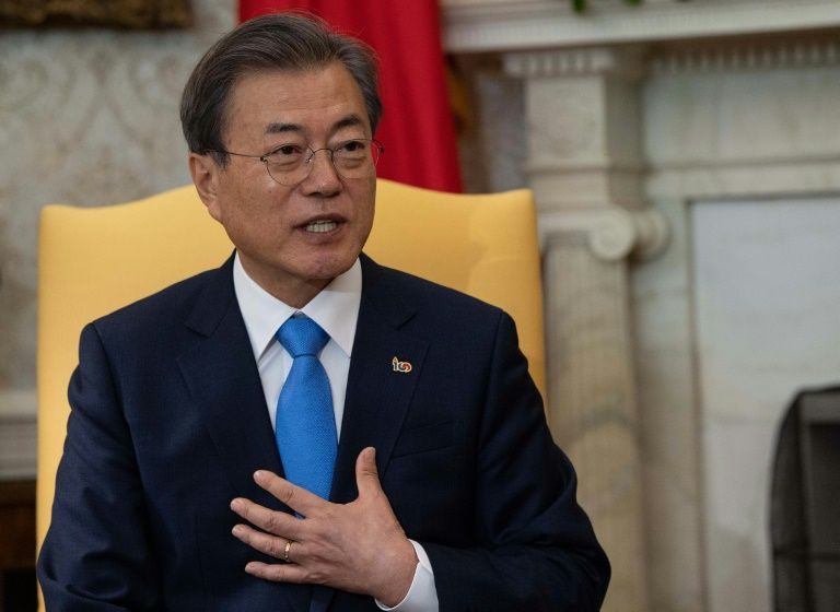 S. Korean President's interviewer targeted for inappropriate frowning