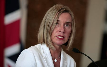 Eu supports Iran nuclear deal, May talk to U.S.'S pompeo: mogherini