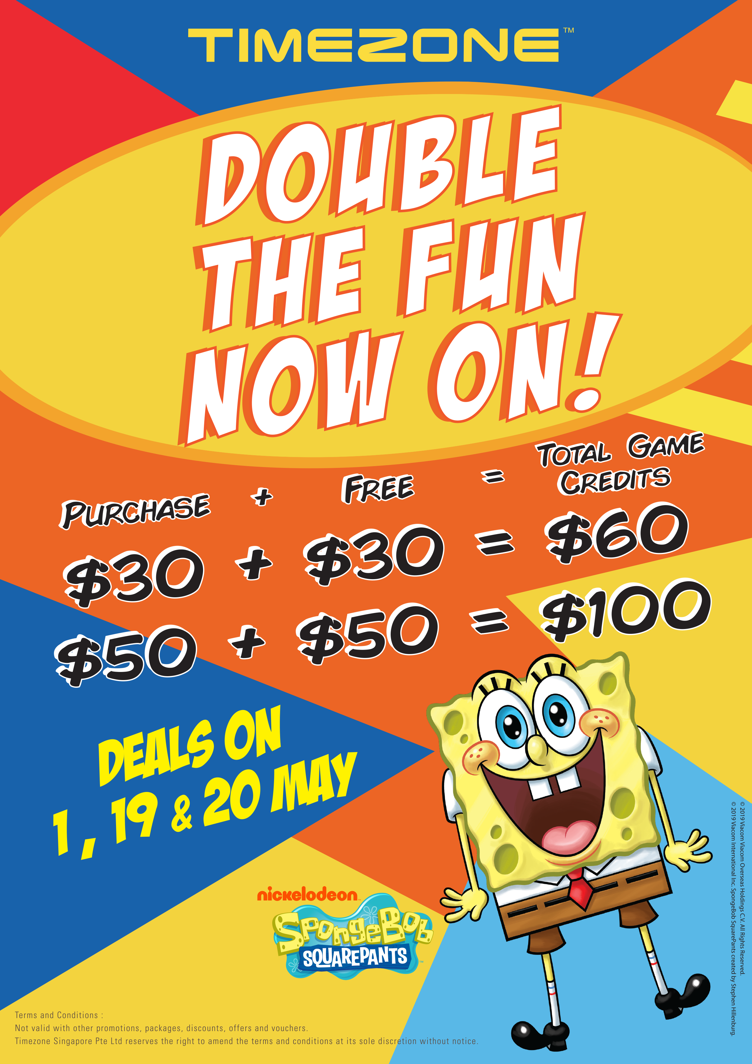 Timezone $30-for-$30 deal means an extra 'life' for your games on 19 & 20 May