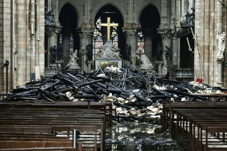 Most notre-dame pledges not yet collected: archbishop