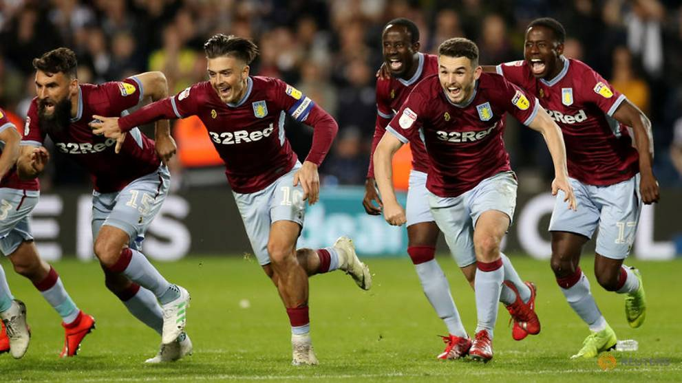 Football: Villa into playoff final after shootout win over West Brom
