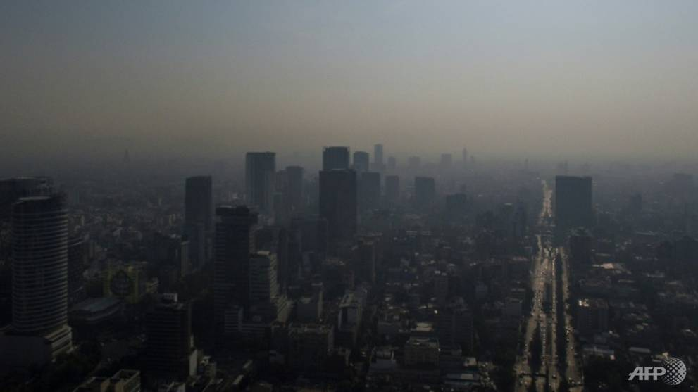 Mexico City declares air pollution alert
