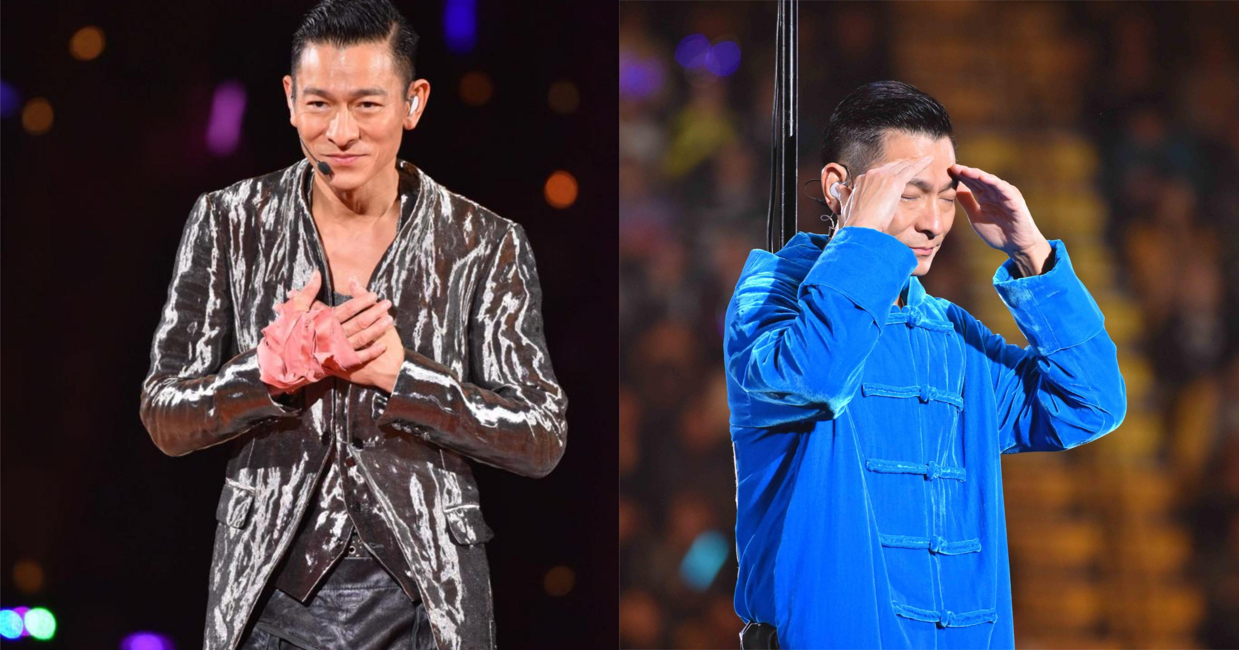 Andy Lau to perform at S'pore Indoor Stadium from Sept. 25 to 28, 2019