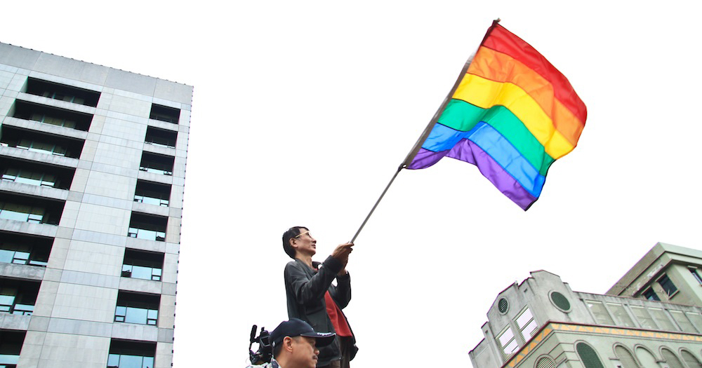 Taiwan first in Asia to legalise same-sex marriage