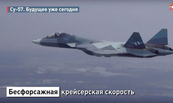 Russia news: Putin plane escorted by SIX Su-57 fighter jets for Pompeo summit - video