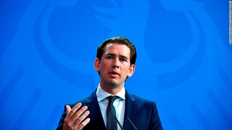 Austrian Chancellor Sebastian Kurz loses confidence vote