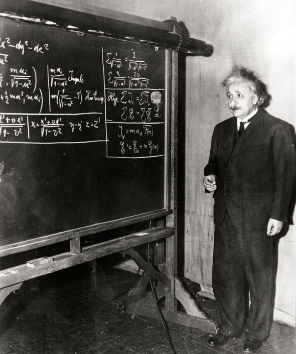 Black hole SHOCK: How Albert Einstein was RIGHT about the universe more than 100 years ago
