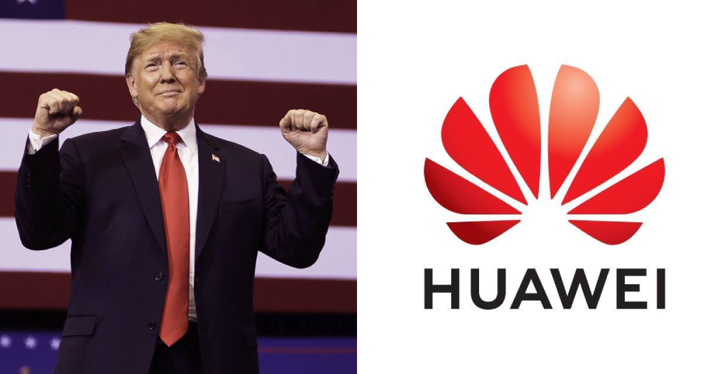 Trump says trade deal with China could include 'very dangerous' Huawei, which contradicts Pompeo