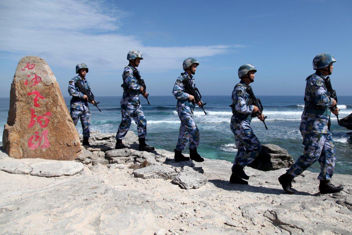 Beijing hits back at US Senate proposal for South China Sea sanctions saying it 'violates norms of international law'
