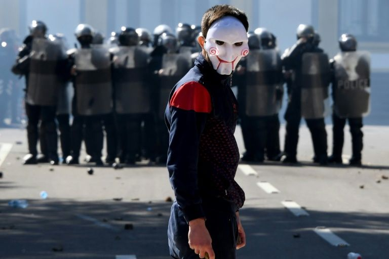 Albania's riotous politics rattle eu dreams